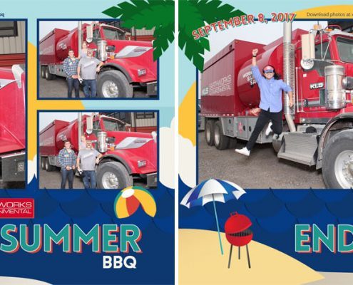 KLS Earthworks BBQ Corporate Outdoor Photo Booth