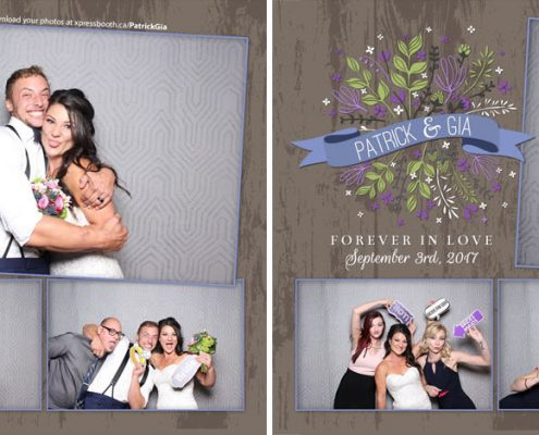 Patrick & Gia's Wedding Photo Booth
