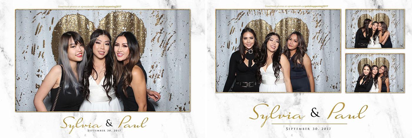 Sylvia & Paul Saskatoon Farm Wedding Photo Booth
