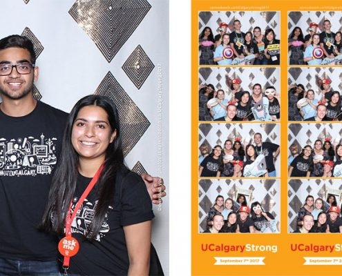 UCalgary Strong 2017 at MacEwan Hall, University of Calgary Photo Booth