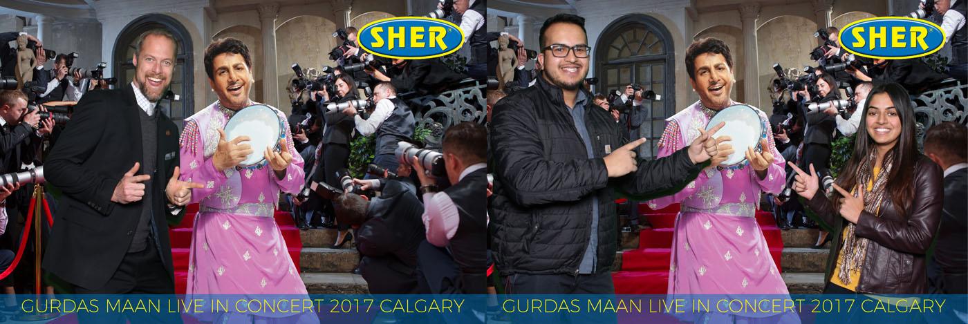 Gurdas Maan Live in Concert 2017 Edmonton Green Screen Photo Booth