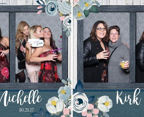 Kirk & Nichelle's Willow Lane Barn Wedding Photo Booth