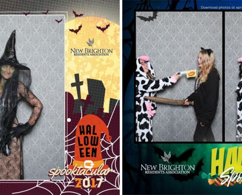 New Brighton Halloween Spooktacaular 2017 Photo Booth