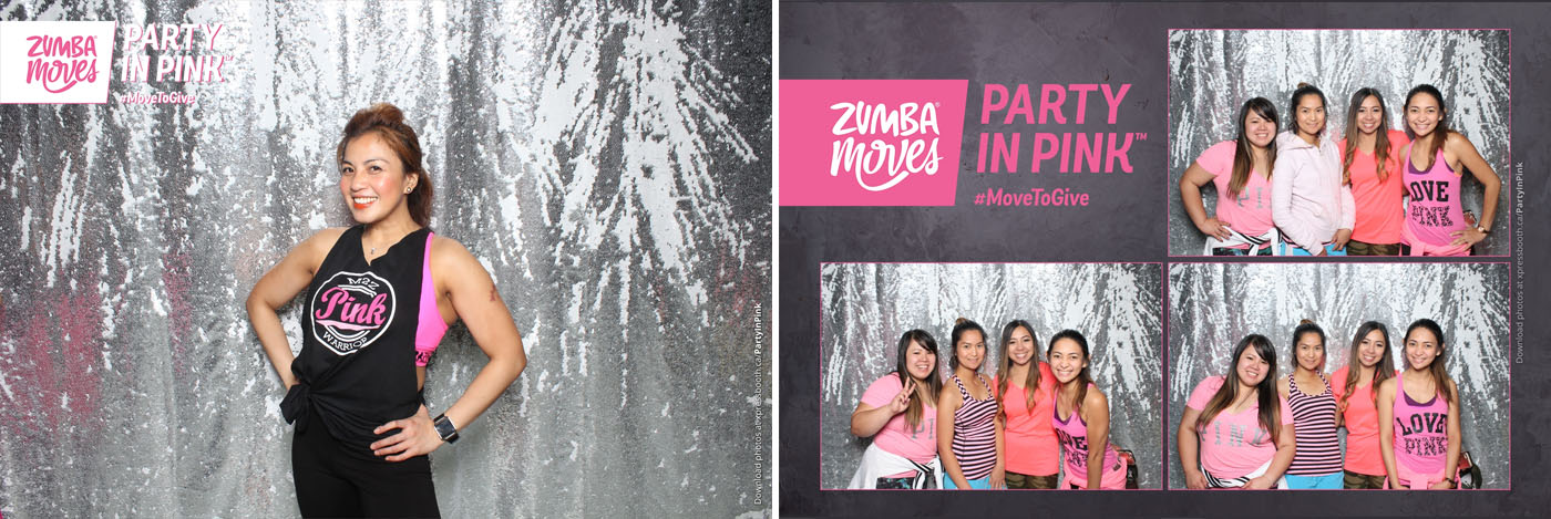 Party in Pink Breast Cancer Awareness Charity Photo Booth Calgary