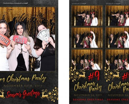 Coop Village Square Christmas Party Photo Booth