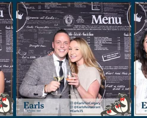 #Earls35 Animated GIF booth at Earls Restaurant Tin Palace Calgary