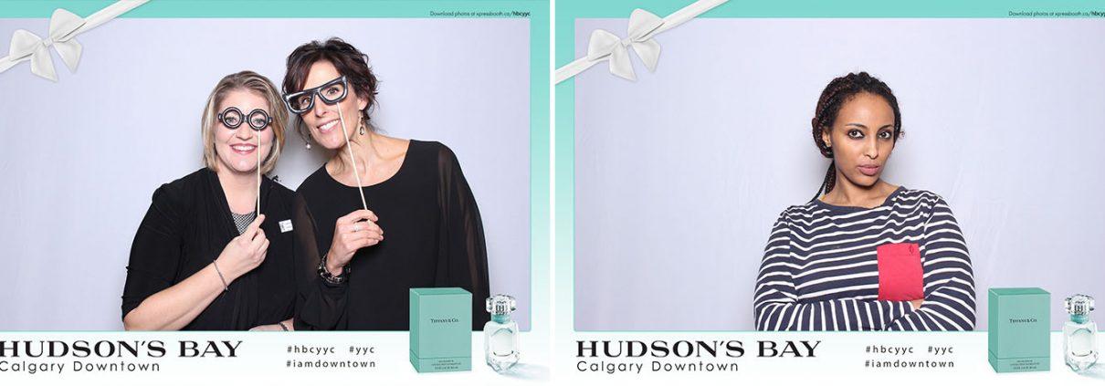 Hudson's Bay Calgary Downtown Tiffany Co Parfum Marketing Promo