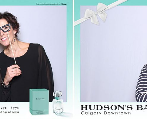 Hudson's Bay Calgary Downtown Tiffany Co Parfum Marketing Promo