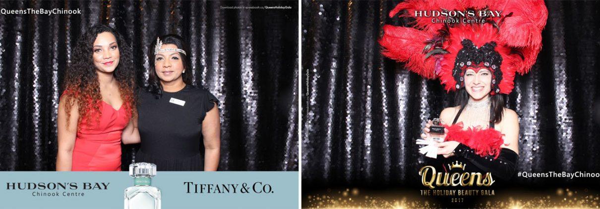 Hudson's Bay Chinook Queens Holiday Beauty Gala 2017 Tiffany Co Parfum