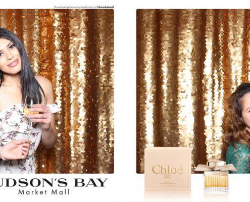 Hudson's Bay Market Mall Chloe Parfum Gala Event