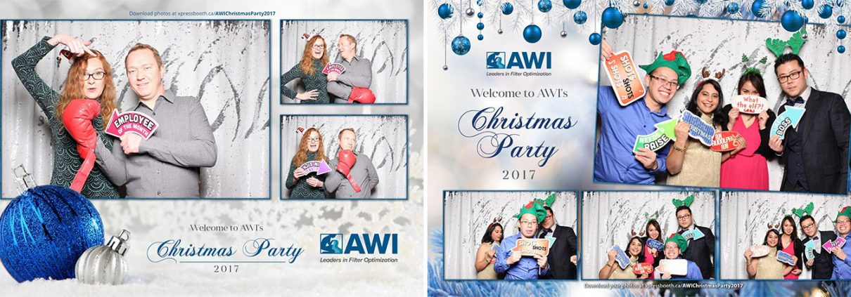 AWI Christmas Party Photo Booth in Saltlik Steakhouse