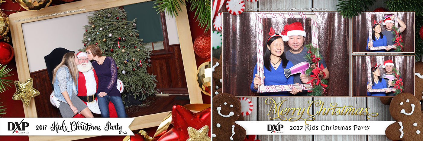 DXP Kids Christmas Party Santa Photo Booth Rental