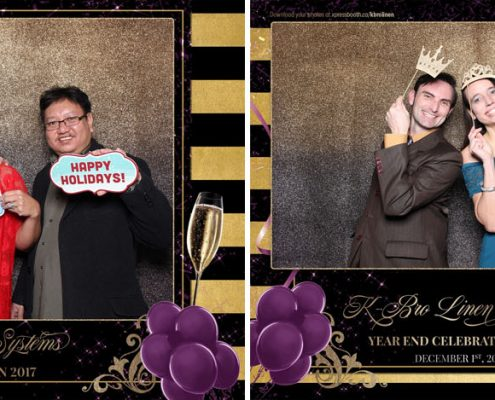 KBrolinen Christmas Party Photo Booth at the Grey Eagle Casino