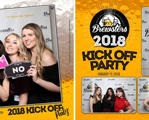 Brewsters Calgary Staff Party Photo Booth