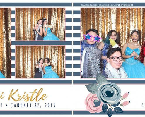 18th Birthday Photo Booth for Cheri Kristle at the Deerfoot Inn Calgary