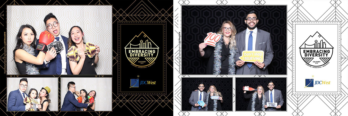 JDC West Calgary Telus Convention Centre Conference Photo Booth