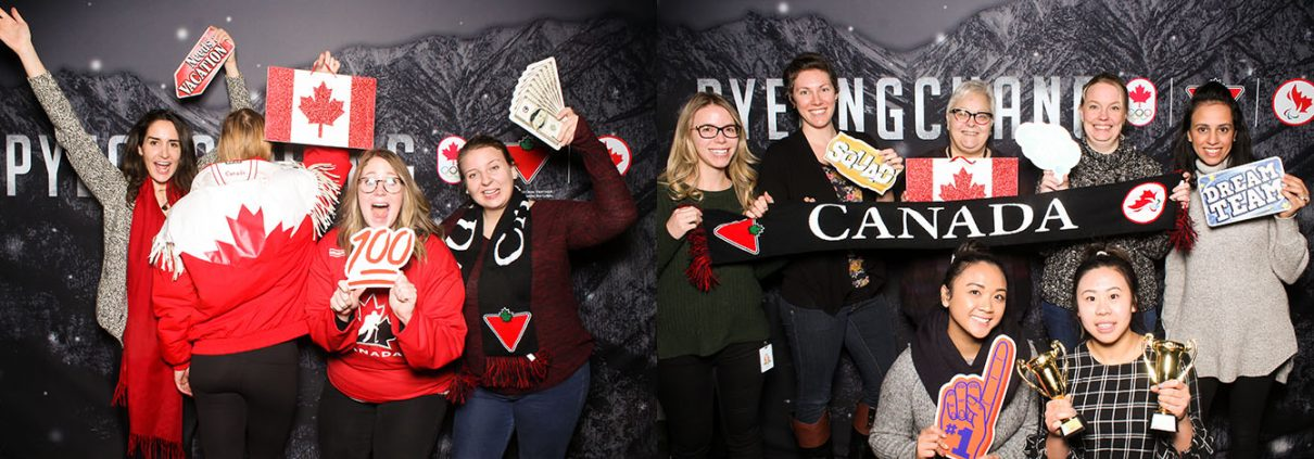 FGL Pyeongchang Olympics Corporate Party Photo Booth