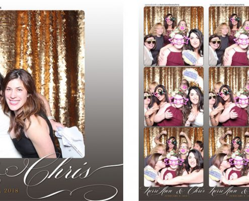 Kerri Ann Chris Wedding Photo Booth at the Lake House Calgary
