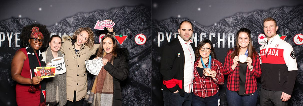 Marks Pyeongchang Olympics Corporate Photo Booth