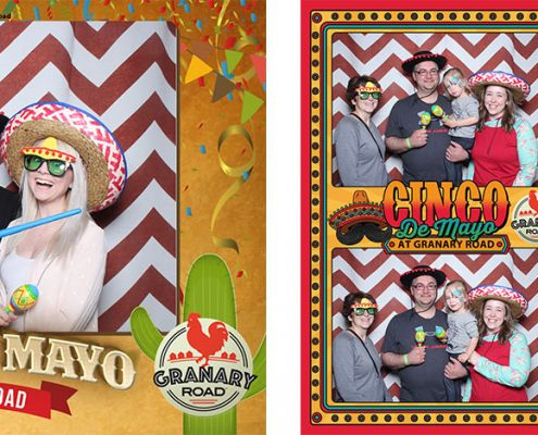 Cinco de Mayo Photo Booth at Granary Road