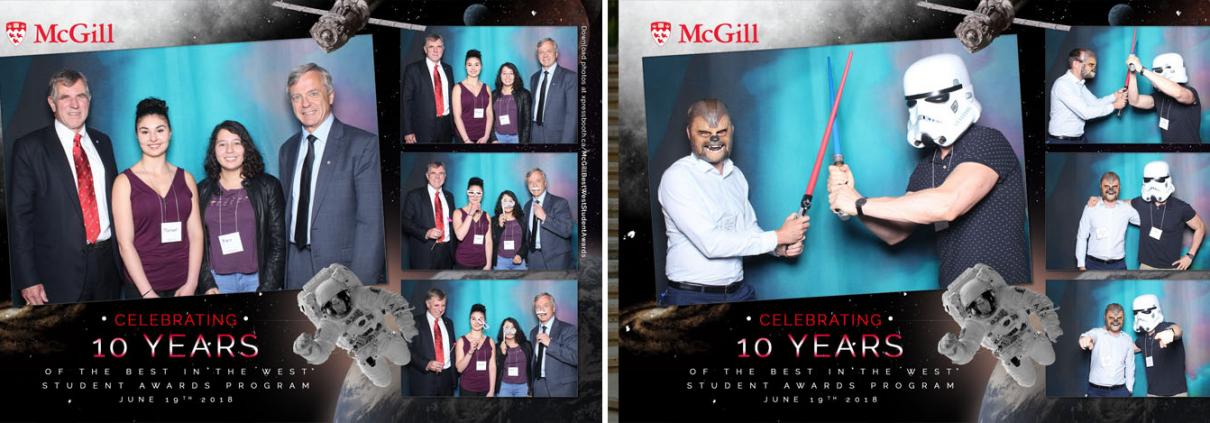 McGill Best in the West Student Awards at the Glenbow Museum in Calgary