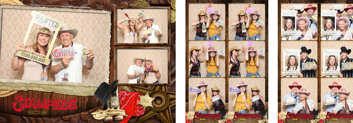 Birchcliff Energy Calgary Stampede Photo Booth