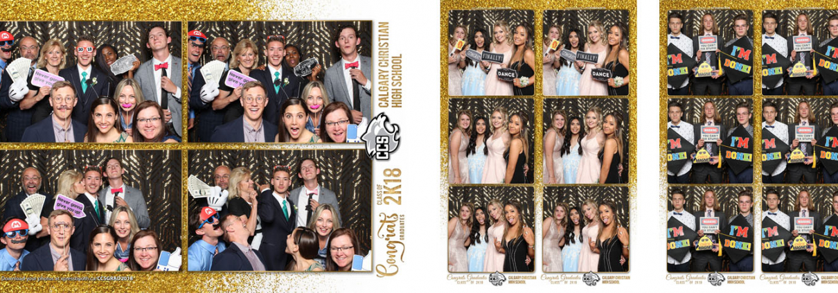 Calgary Christian School Graduation Photo Booth