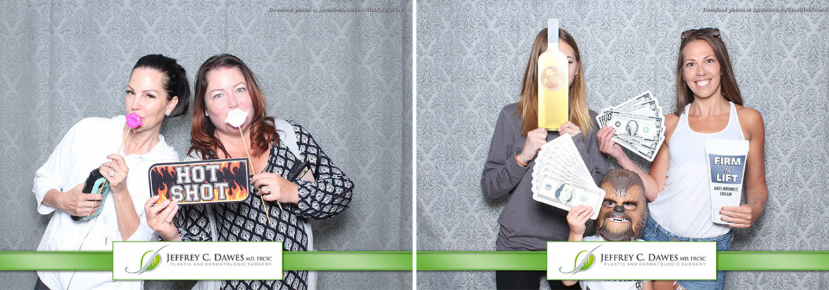 Jeffrey C Dawes Plastic and Dermatological Surgery Block Party Outdoor Photo Booth