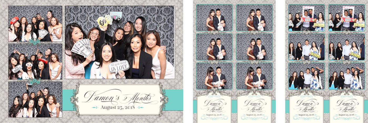 Damon Baby Shower Photo Booth at the Forbidden City Restaurant in Calgary