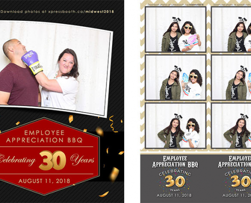 Midwest Employee Appreciation BBQ Photo Booth at the Calgary Zoo