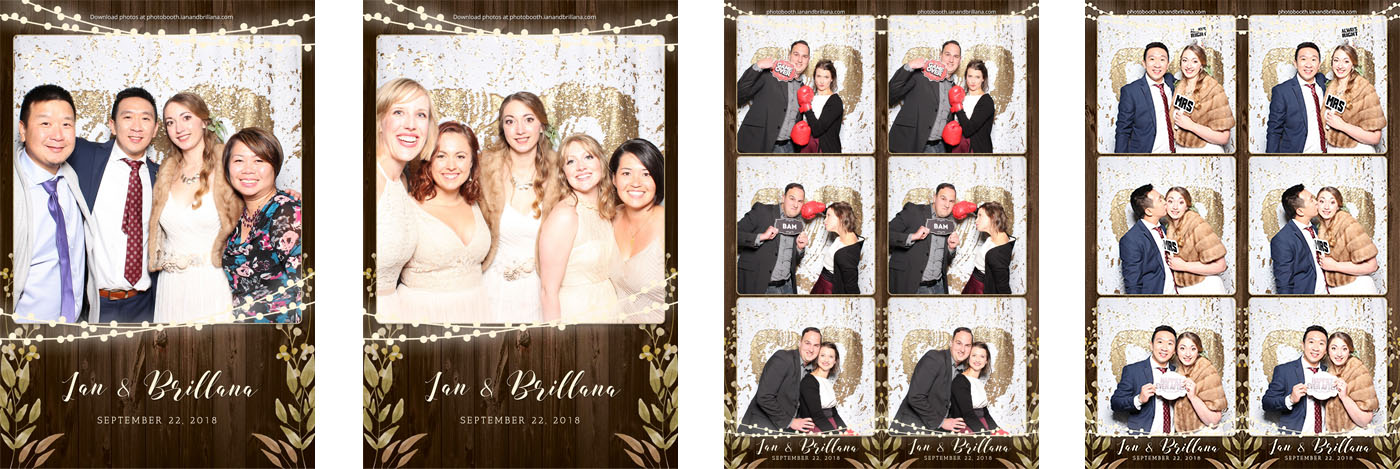 Ian and Brillana Wedding Photo Booth at the Coutts Centre for Western Canadian Heritage