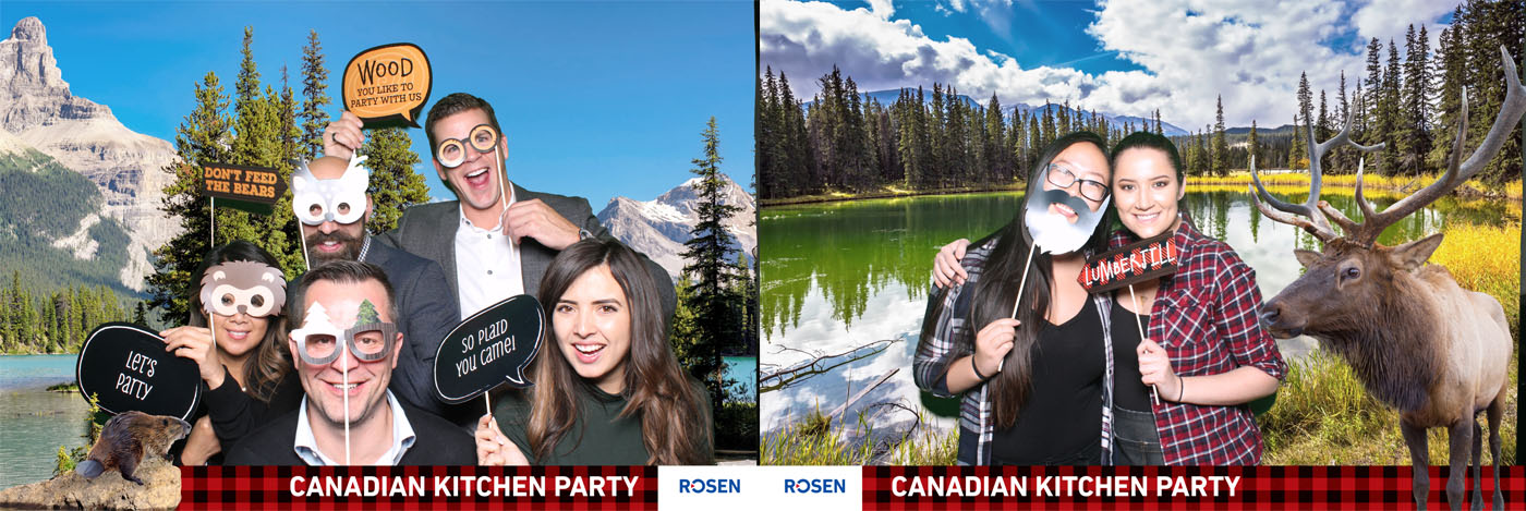 Rosen Canadian Kitchen Party Green Screen at the National on 10th