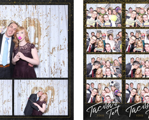 Tacita and Ted Wedding Photo Booth