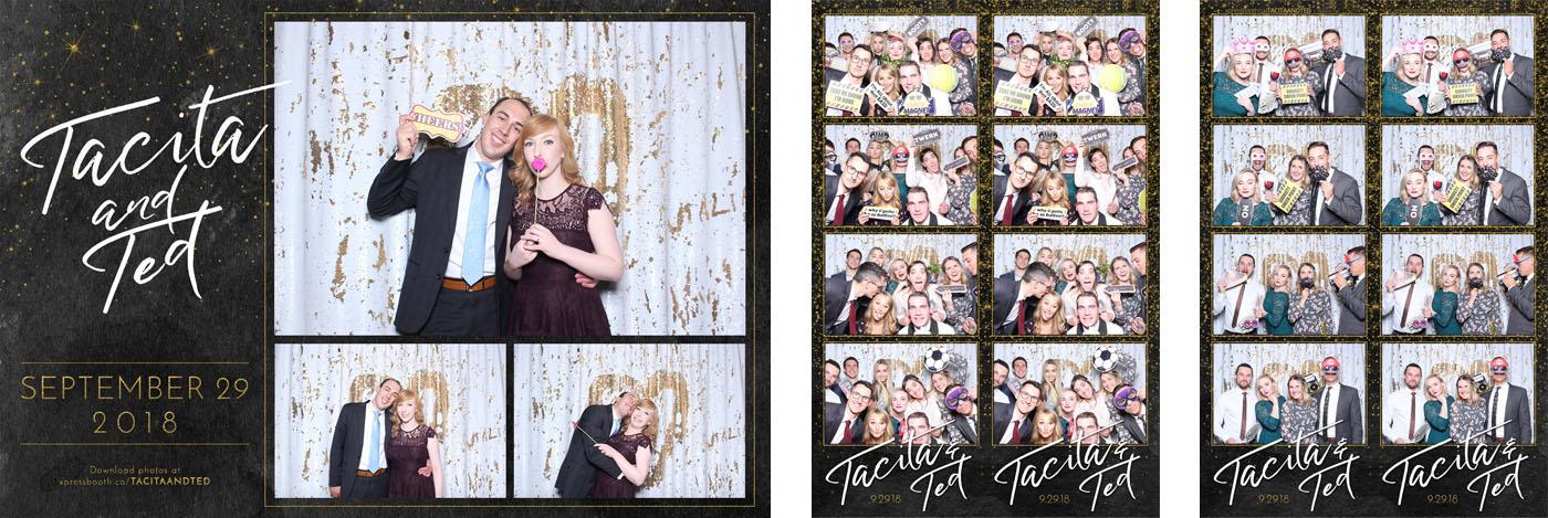 Tacita and Ted Wedding Photo Booth