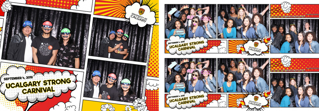 UCalgary Strong Carnival Photo Booth for School Events