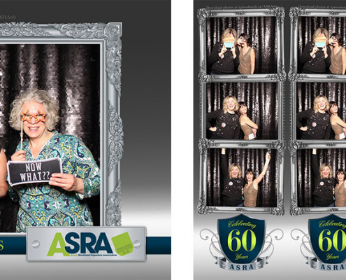 ASRA 60th Anniversary Photo Booth in Canmore