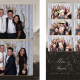 Mike and Stacia Wedding Photo Booth at the Norquay Ski Resort in Banff