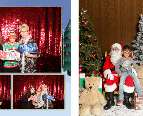 FGL Kids Christmas Party Photo Booth and Santa Photos