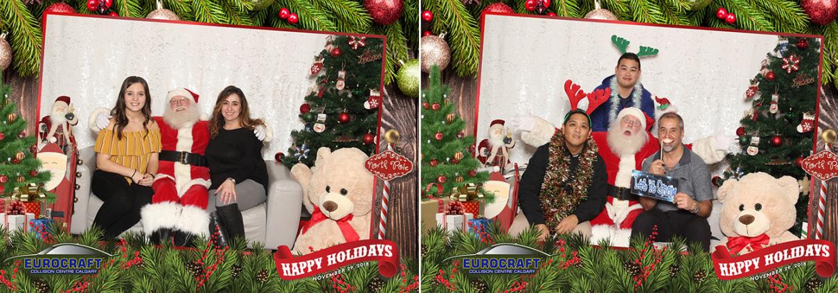 Eurocraft Christmas Party Santa Photo Booth