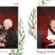 Happy Holidays Seniors Christmas Luncheon Photo Booth at the Royal Canadian Legion Centennial Calgary Branch 285