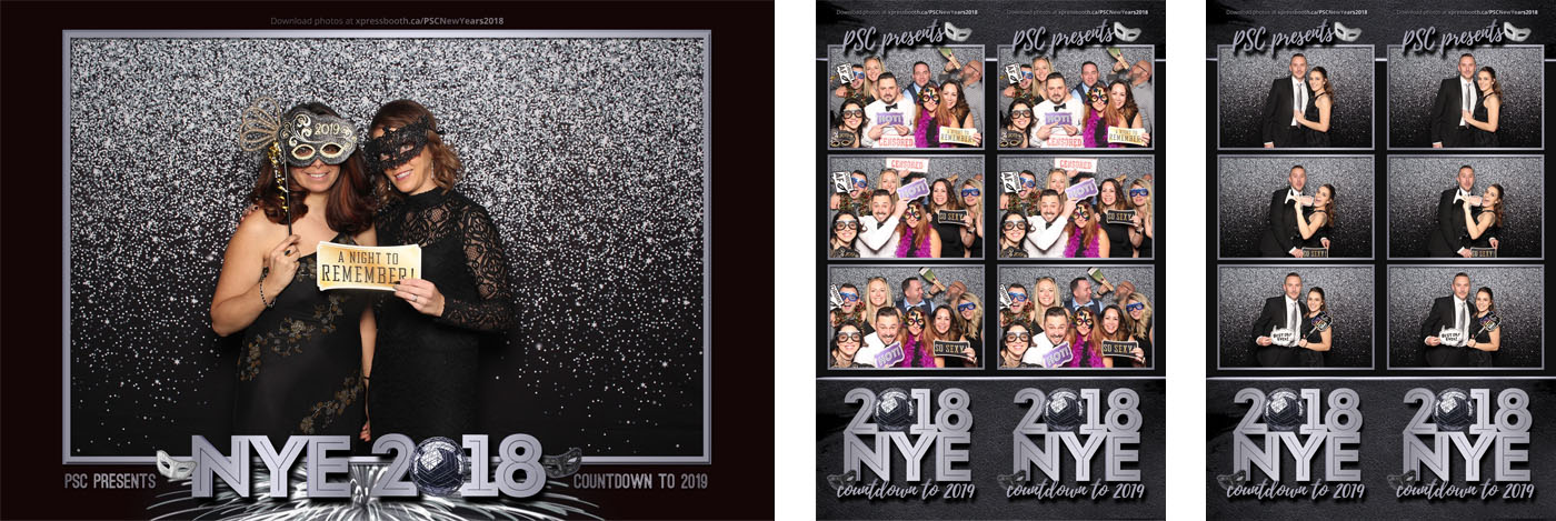 Portuguese Society of Calgary New Year Eve Gala Photo Booth