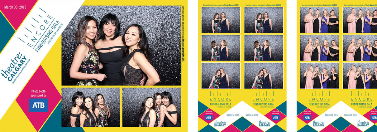 Theatre Calgary Encore Gala Photo Booth at the Calgary Stampede
