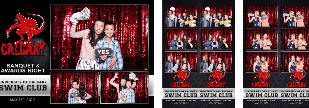 University of Calgary Dinos Swim Club Banquet & Awards Night Photo Booth