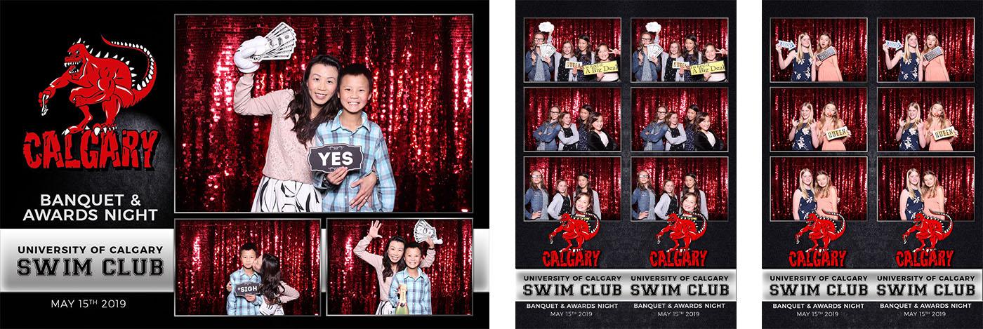 University of Calgary Dinos Swim Club Banquet & Awards Night Photo Booth
