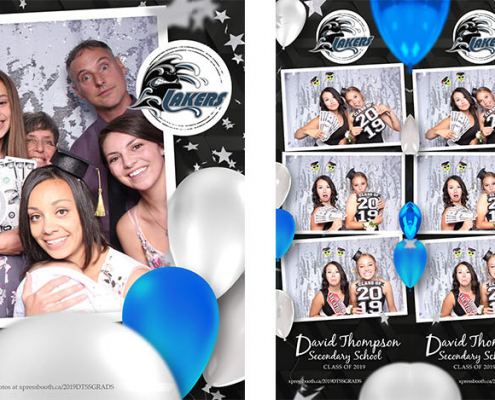 David Thompson Secondary School Invermere High School Graduation Party Photo Booth