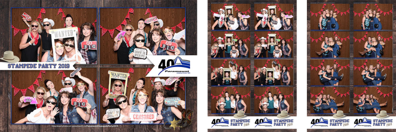 Paramount Resources Stampede Xpressbooth Photo Booth Calgary