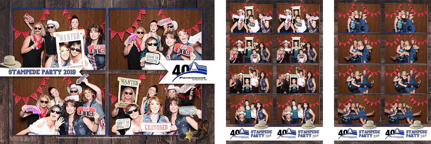 Calgary Stampede Party Photo Booth for Corporate