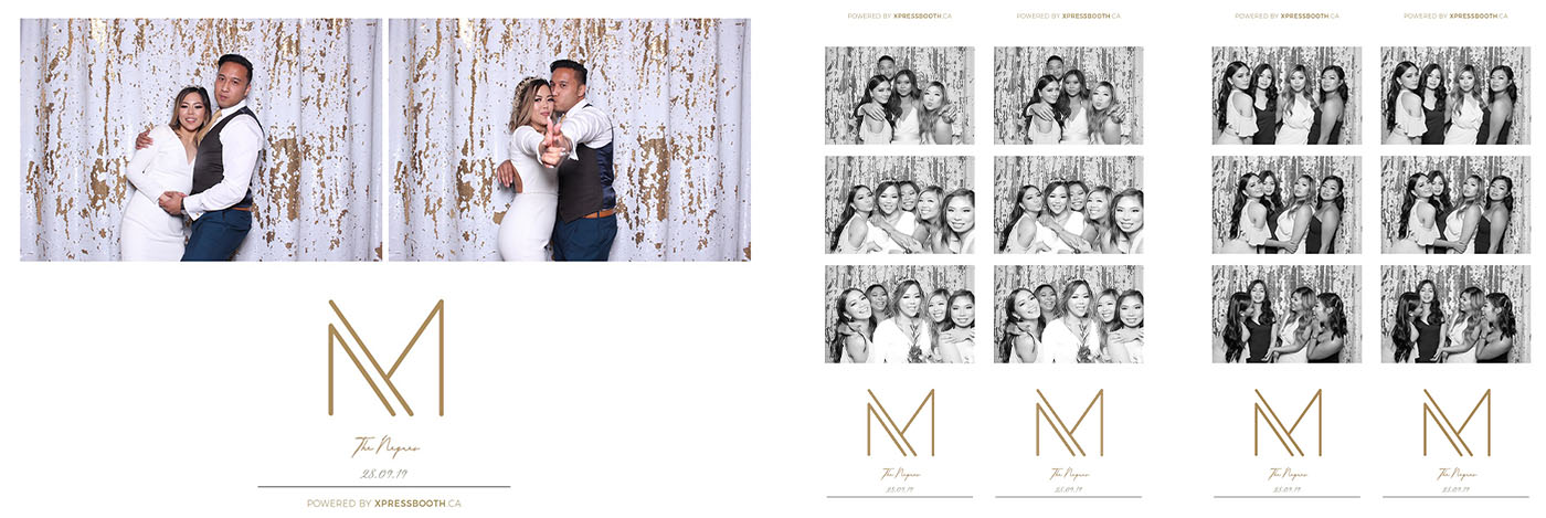 Michael and Melissa Wedding Photo Booth at Spruce Meadows