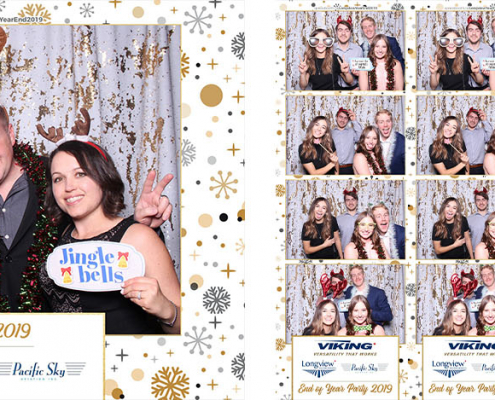 Viking Air Year End Party Photo Booth at Hotel Arts Calgary