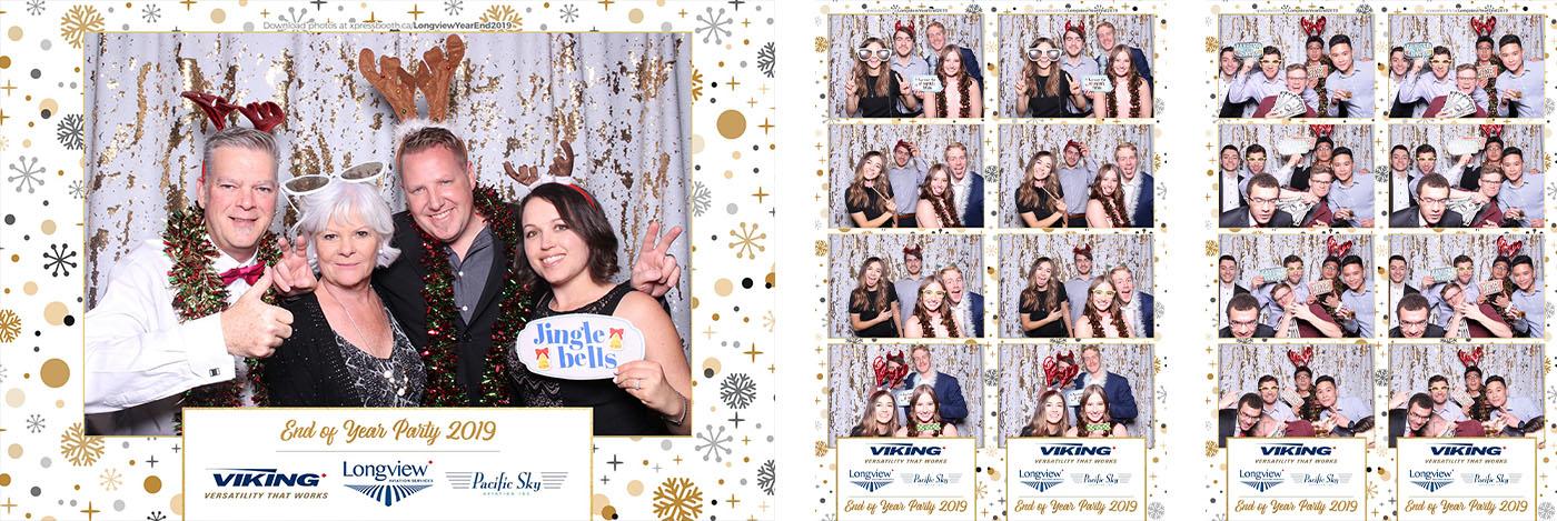 Viking Air Year End Party Photo Booth at Hotel Arts Calgary